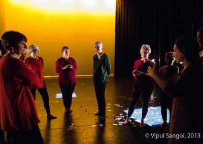 Anusha choreographing BTDTSM