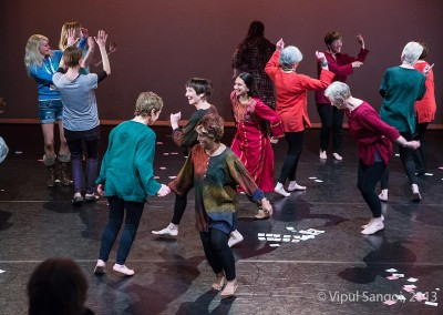 Been There Done That Still Moving performance at Jerwood Theatre, Dance East, Ipswitch.Photo © Vipul Sangoi